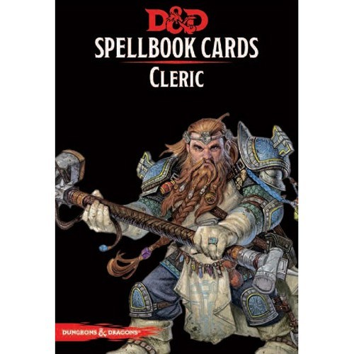 Dungeons And Dragons: Updated Spellbook Cards - Cleric Deck