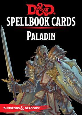 Dungeons And Dragons: Updated Spellbook Cards - Paladin Deck