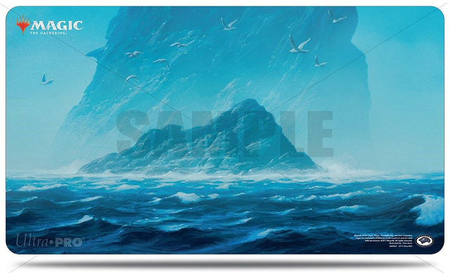 Magic 24 x 13.5 Blue Mana Play Mat