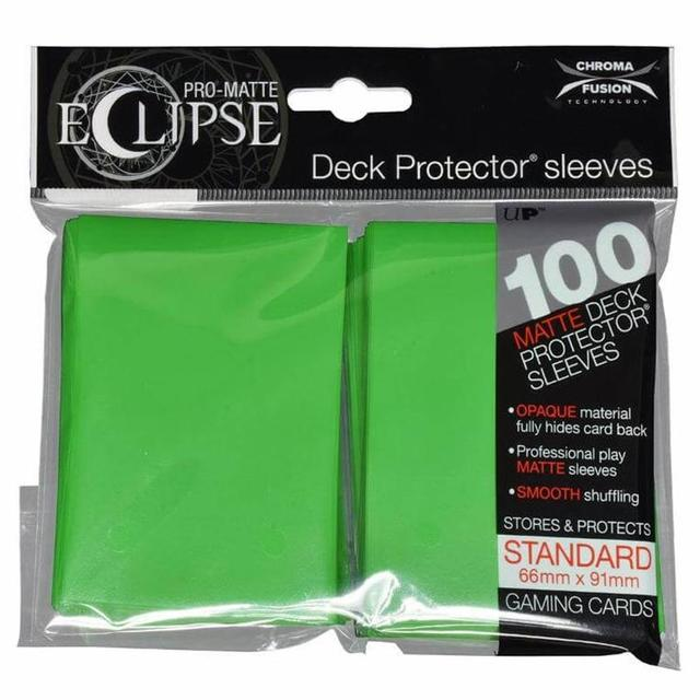 Ultra Pro - Sleeves: PRO-Matte Eclipse Standard Deck Protector Sleeves Dark Green