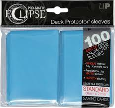 Ultra Pro - Sleeves: PRO-Matte Eclipse Standard Deck Protector Sleeves Light Blue