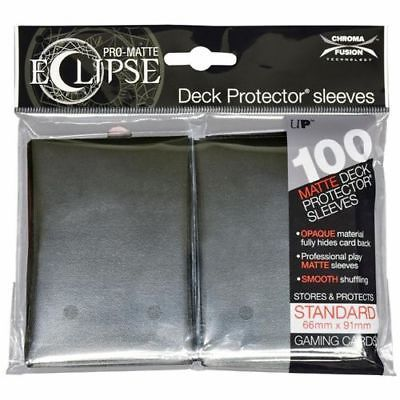 Ultra Pro - Sleeves: PRO-Matte Eclipse Standard Deck Protector Sleeves Black