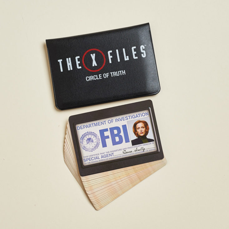 X-Files Circle of Truth Card Game