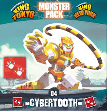 King of Tokyo: Monster Pack-Cybertooth-