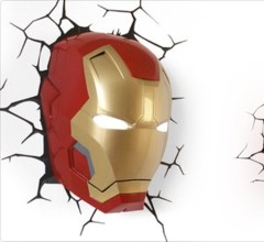 Iron Man Wall Light