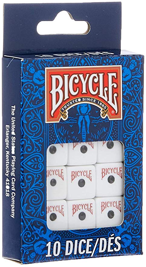 Bicycle: 10 Dice