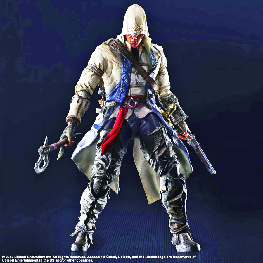 ASSASSINS CREED III PLAY ARTS KAI CONNOR