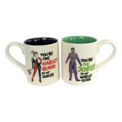DC Mug Set: Joker and Harley