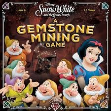 Disney- Snow White and the Seven Dwarfs: A Gemstone Mining Game