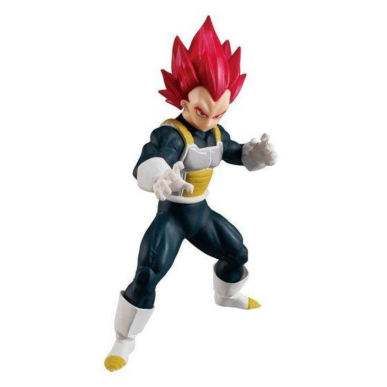 Dragon Ball Styling: super saiyan god vegeta