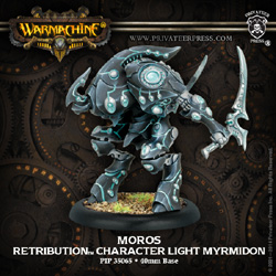 WARMACHINE MOROS RETRIBUTION CHARACTER LIGHT MYRMIDON