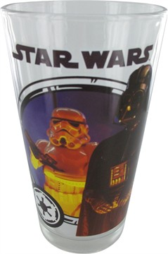 Star Wars - Darth Vader and Stormtrooper Pint Glass