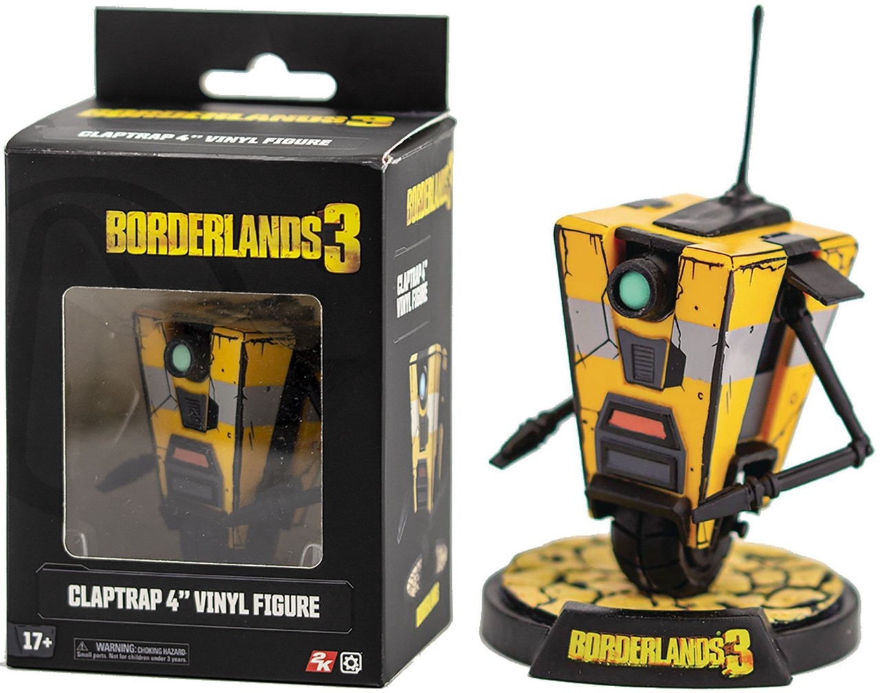 Borderlands 3: Claptrap Figure
