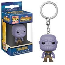 Pop! Pocket Keychain: Marvel Avengers Infinity War: Thanos