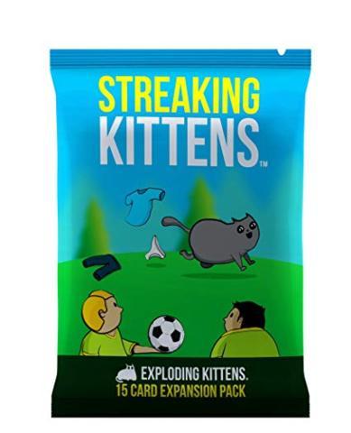 Streaking Kiitens-Exploding Kittens expansion pack