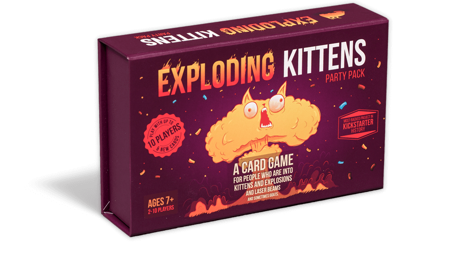 EXPLODING KITTENS- Party Pack