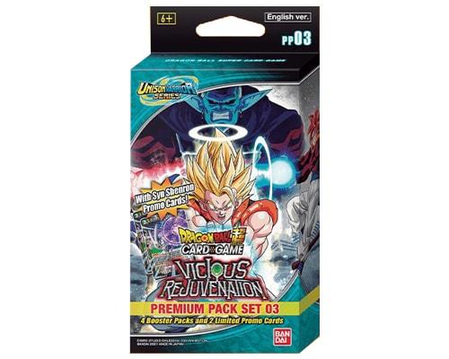 Dragon Ball Super - Premium Pack Set 03 - Vicious Rejuvenation