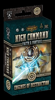 Warmachine: High Command Faith & Fortune Engines of Destruction