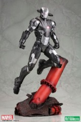 War Machine on Red Pipe Statue