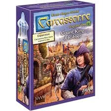 Carcassone expension: Count, King & Robber