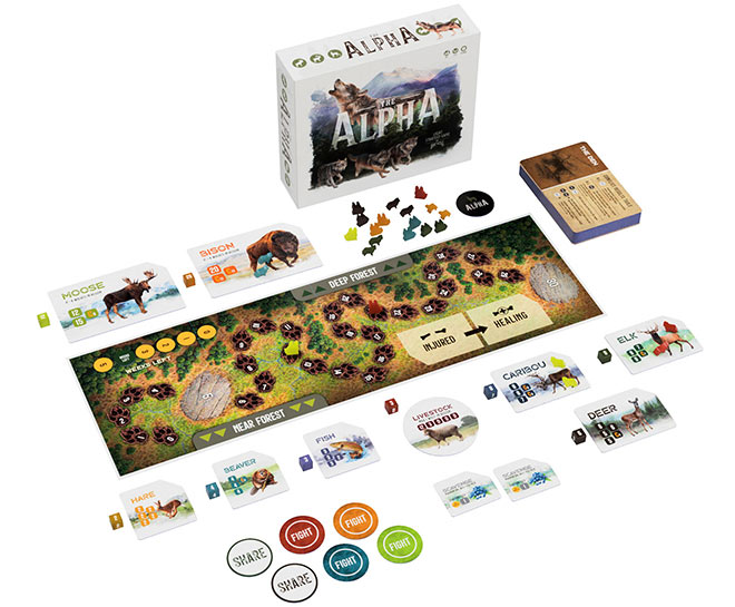 The Alpha Board Game