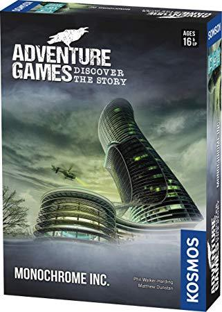 Adventure Games-Discover the Story: Monochrome Inc.