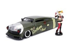 Metals Die Cast-DC Bombshells: Harley Quinn and 1951 Mercury