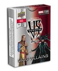 Vs System 2Pcg: 2PCG MCU villains