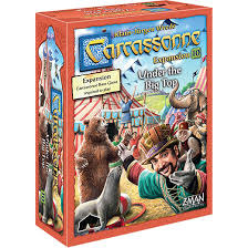 Carcassonne expension: Under the Big Top
