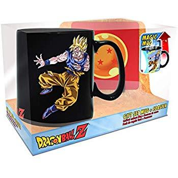 Gift Set Mug- Dragon Ball Magic Mug combat