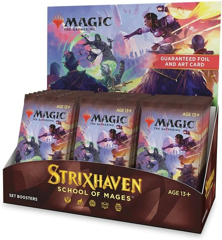 Strixhaven: School of Mages - Set Booster Box (Japanese)