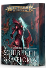 Warscroll Cards Soulblight Gravelords