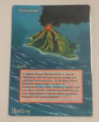 German Volcanic Island Altered