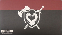 Legion Shield Logo Playmat