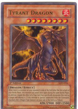 Tyrant Dragon - LOD-034 - Ultra Rare - 1st Edition