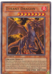 Tyrant Dragon - LOD-034 - Ultra Rare - 1st Edition