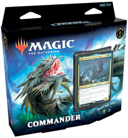 Commander Legends Commander Deck: Reap the Tides