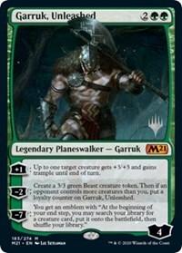 Garruk, Unleashed - Promo Pack
