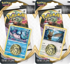 Pokemon SWSH2 Rebel Clash Checklane Blister Packs - Set of 2