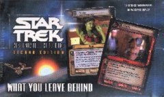 Star Trek CCG What You Leave Behind Booster Boxes