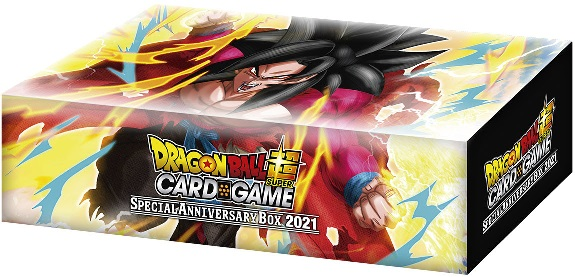 Dragon Ball Super Card Game Dbs Be19 Special Anniversary Box 2021 Bandai Dragon Ball Super Dragon Ball Super Booster Boxes Collector S Cache