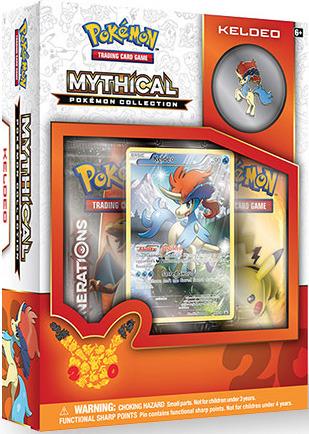 Pokemon Mythical Collection: Keldeo