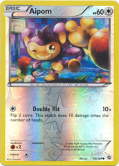 Aipom - 99/124 - Common - Reverse Holo
