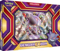 Pokemon Gengar EX Collection Box