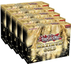 Yu-Gi-Oh Maximum Gold Display Box (5 Mini-Boxes)