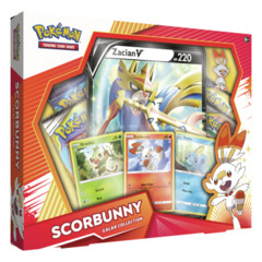 Pokemon Galar Collection Box - Scorbunny with Zacian
