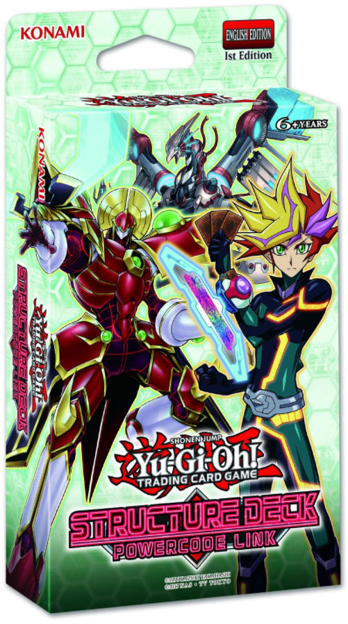 Yu-Gi-Oh Structure Deck: Powercode Link