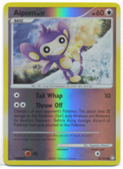 Aipom - 70/123 - Common - Reverse Holo