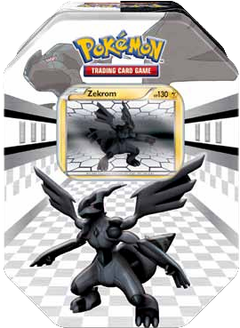 Pokemon 2011 Pokemon New Legends Tin: Zekrom