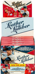 2019 Panini Leather & Lumber MLB Baseball Hobby Box